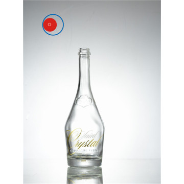 glass vodka bottle Slope Shape