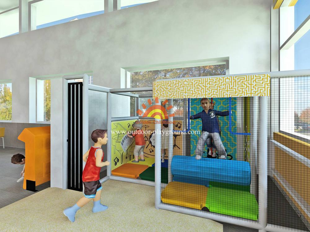 Indoor Playground Structure For Kids