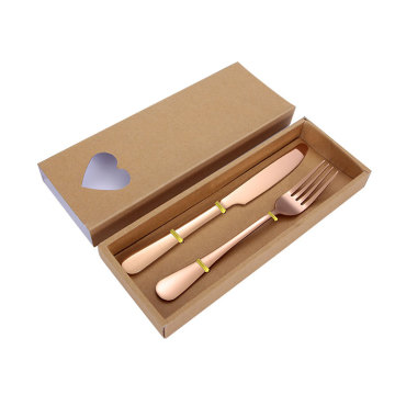 Wedding Stainless Knife and Fork Set in Box