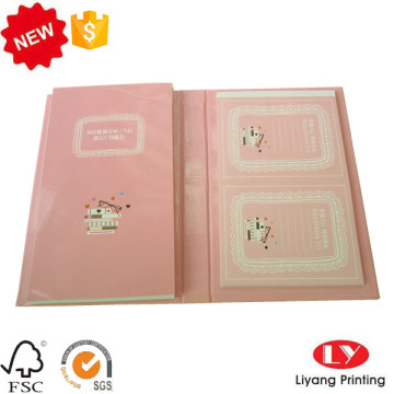 Customized Hardcover cute notepad set printing