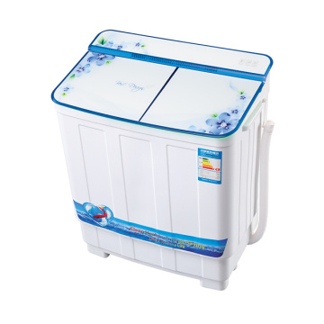 Blue Glass Cover 3.8KG Twin Tub Washing Machine