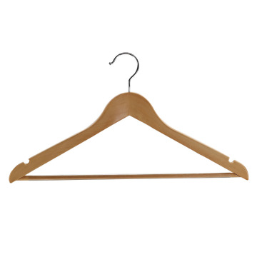 Wooden Hanger for Coat Hotel Clothes Hanger