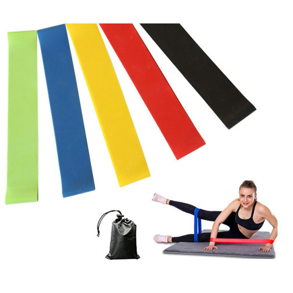 Wholesale rubber Yoga loop resistance band