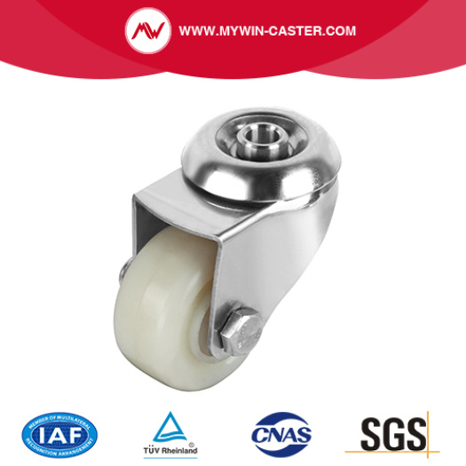 Swivel Caster With Hollow Kingpin