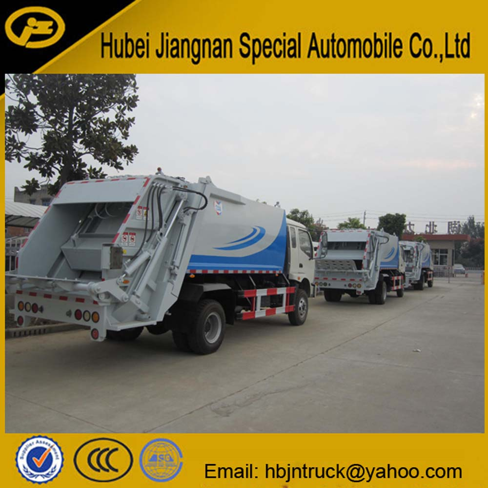 compactor waste truck