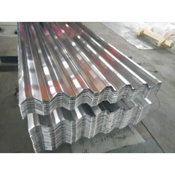 Pressed aluminium 750 corrugated board