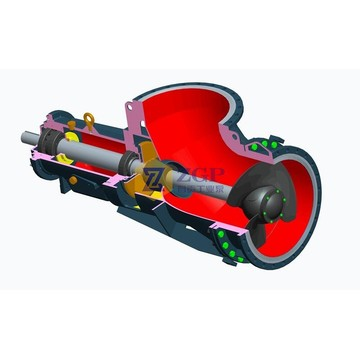Big Horizontal Axial Propeller Pump sold by factory