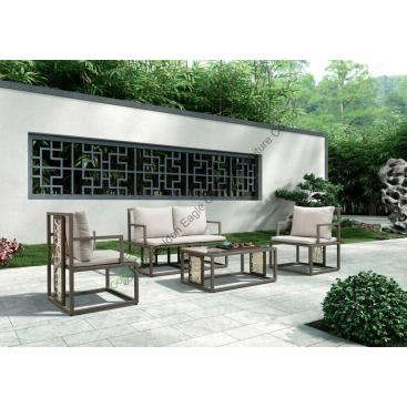 Hotel Wicker Furniture Garden Furniture Outdoor Sofa