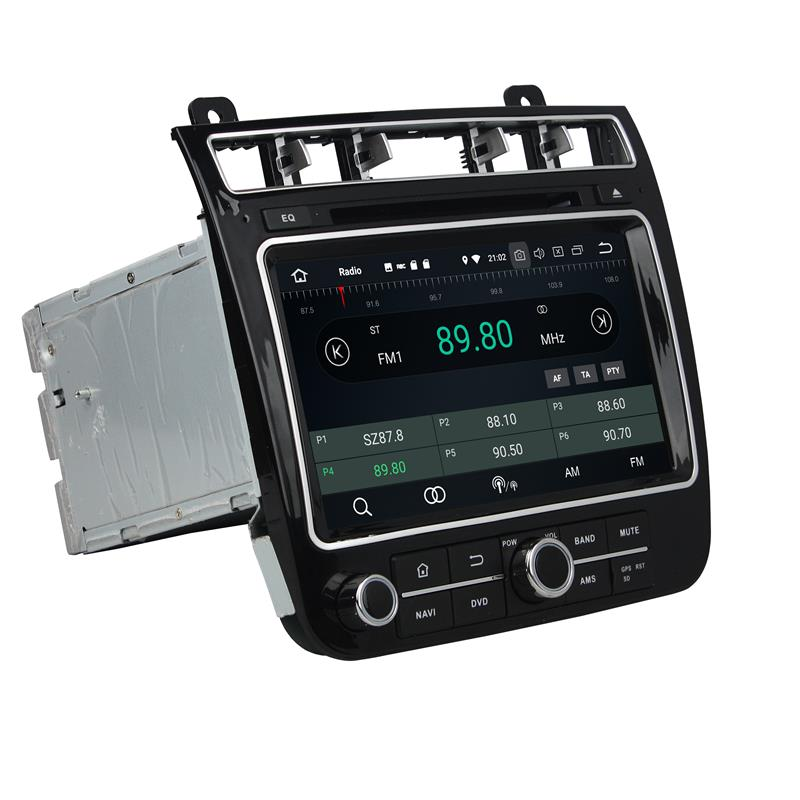 TOUAREG android 8 Car stereo with navigation (4)
