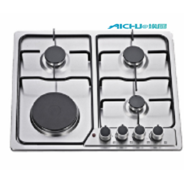 4 Burners Gas And Electric Cooktops