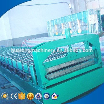 China supplier galvanized sheet corrugation machine