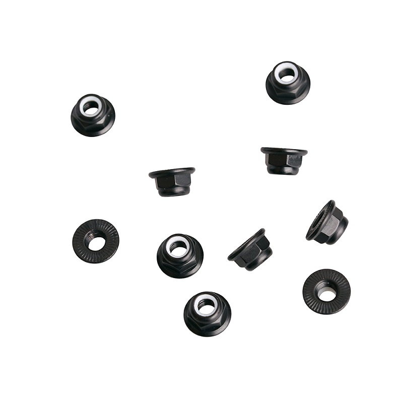 Anti-Theft Flange Serrated Nuts