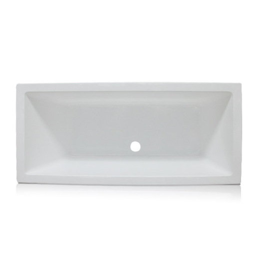 Tabor Double Ended Bath Tub in White