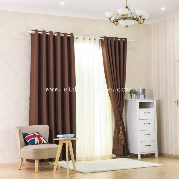 2017 Linen like blackout curtain