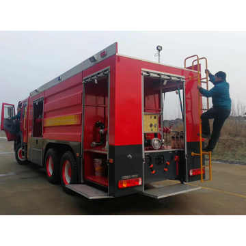 15-20CBM 336HP Diesel Emergency Rescue Fire Fighting Truck