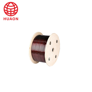 6.0mm Polyester Enameled Magnet Aluminum Round/ Flat Wire