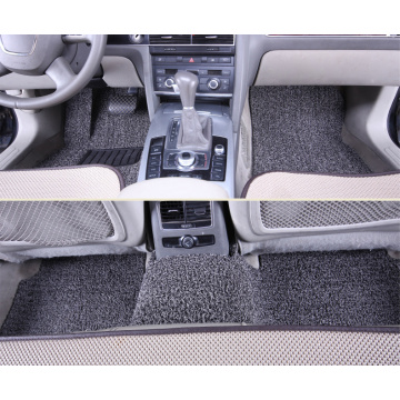 Car floor mats with soft coil moderate