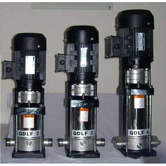 QDLF vertical stainless steel multistage pump