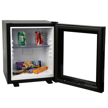 Hotel Minibar Glass door Fridge 28L