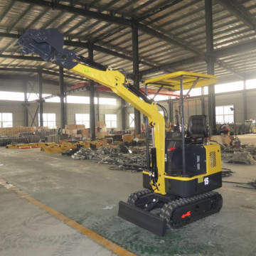 1.5Ton mini excavator rubber tracks