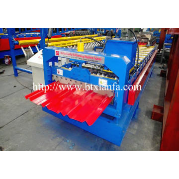 Philippine Trapezoid Panle Tile Making Machine