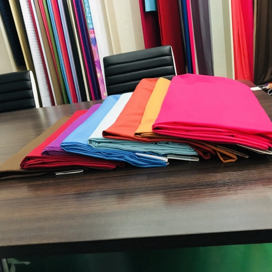 100% Polyester Microfiber Solid Sheet Fabric