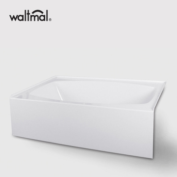 Alcove Bathtub with Left and Right Drain 67