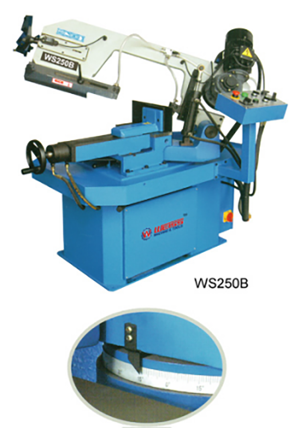 parts of band saw machine