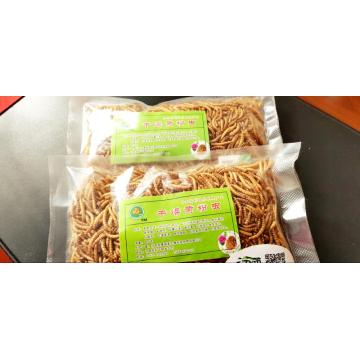 Dry yellow mealworm for pet