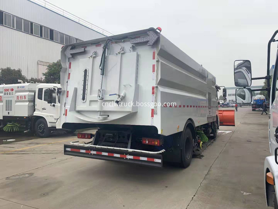 municipal sanitation trucks manufacturer