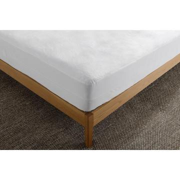 Hypoallergenic Quilted Mattress Pad  18inches Deep