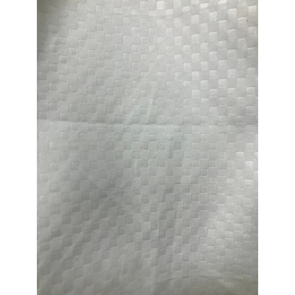 Microfiber Fabrics Embossed Check Design