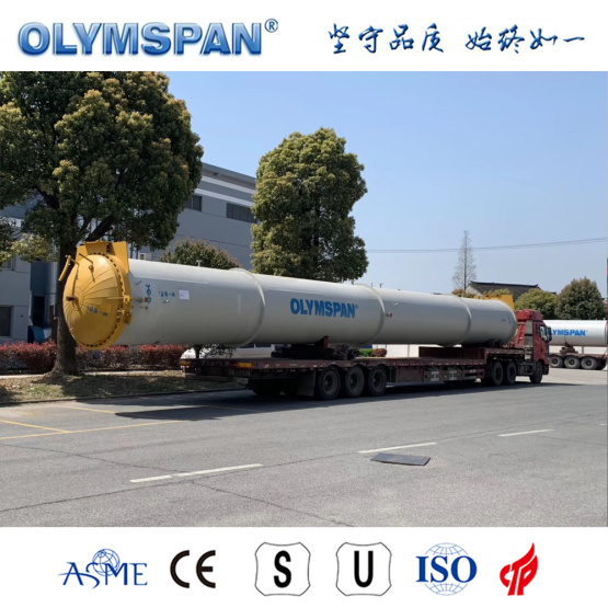 ASME standard cement ALC brick fabrication autoclave