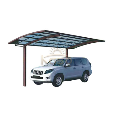 Photo Metal Roof  Curved Carport