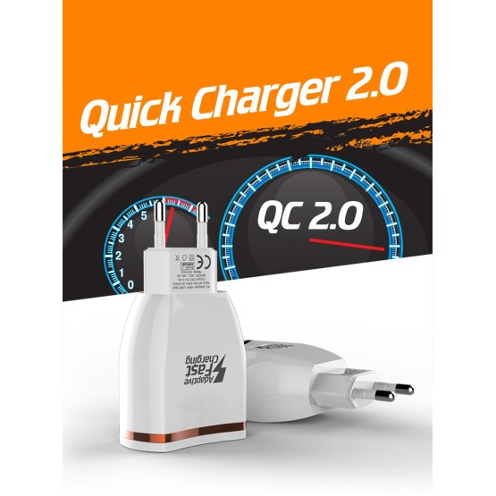 18W Quick Charge 2.0 Mobile Phone Charger