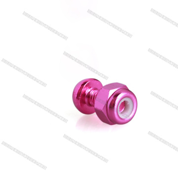 Colorful Lock Nut Aluminum Fastners For Drone