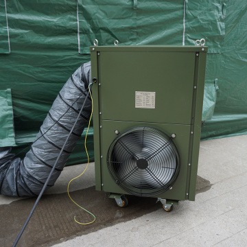 Industrial spot cooler/portable air conditioner