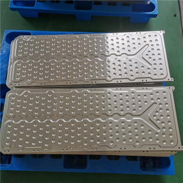 Brazing Aluminum liquid Cold Plate sheet heat exchange