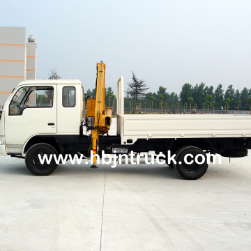 2 Ton Folding Boom Crane Mounted Truck
