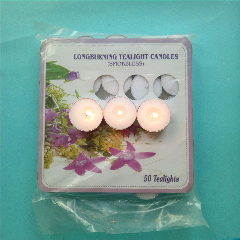 Polybag Tealight Candles