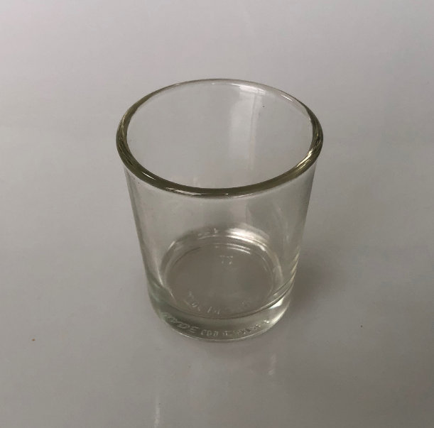 LTP4021 Column glass candle cup