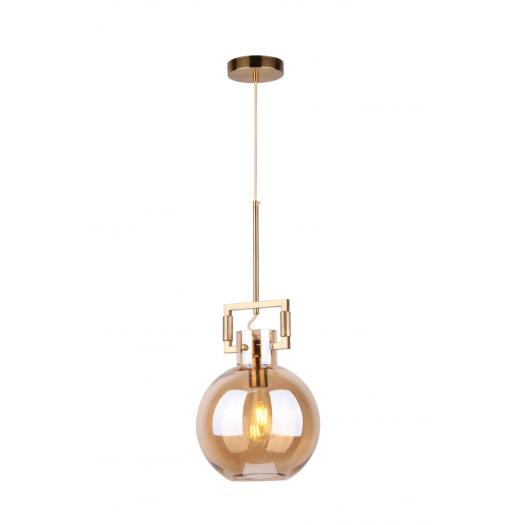Creative modern gradient glass pendant lamp