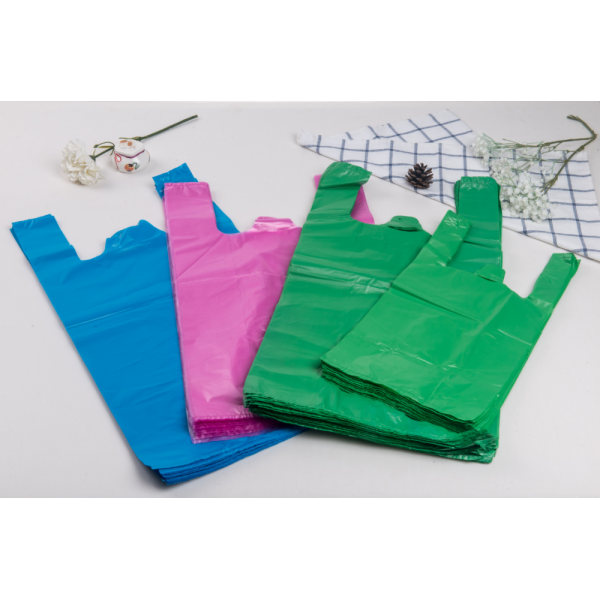 Shopping Plastic T-Shirt Bag