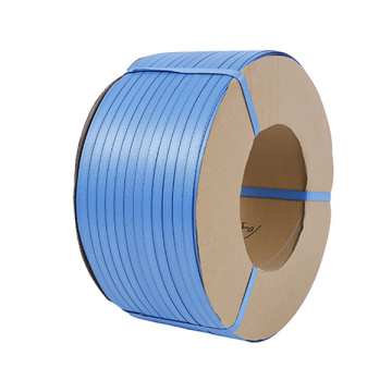 Blue color PP strip packaging plastic strap factory
