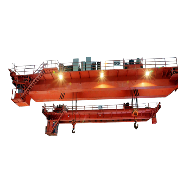 Electric double girder bridge crane 80 ton