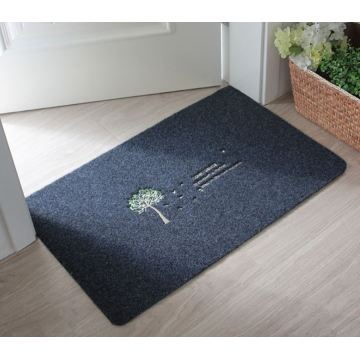Hot sale personalized embroidery logo door mats