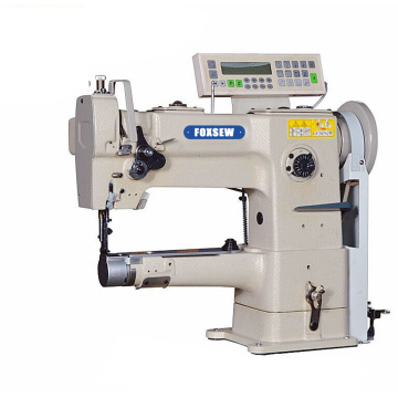 Single Needle Computerized Cylinder Bed Unison Feed Walking Foot Heavy Duty Leather Sewing Machine