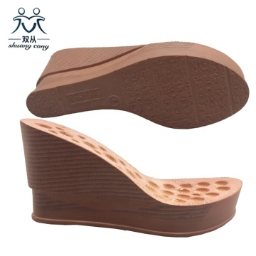 PU Wedge Sandals Sole