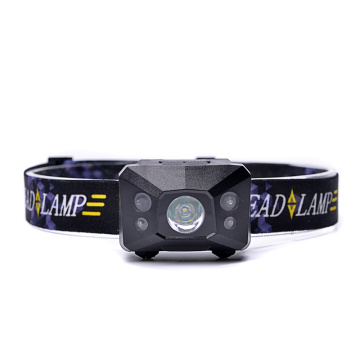 usb rechargeable sensor led headlamp