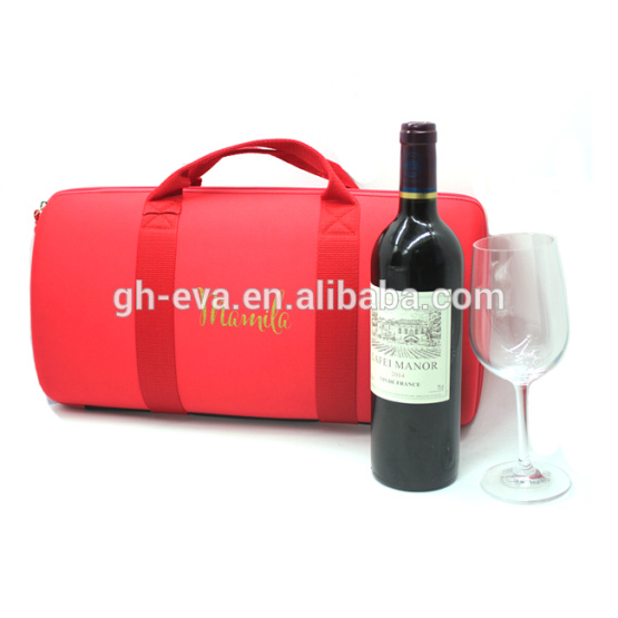 2017 Promotional wine gift box single bottle wine case